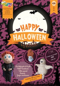 halloween jumping clay