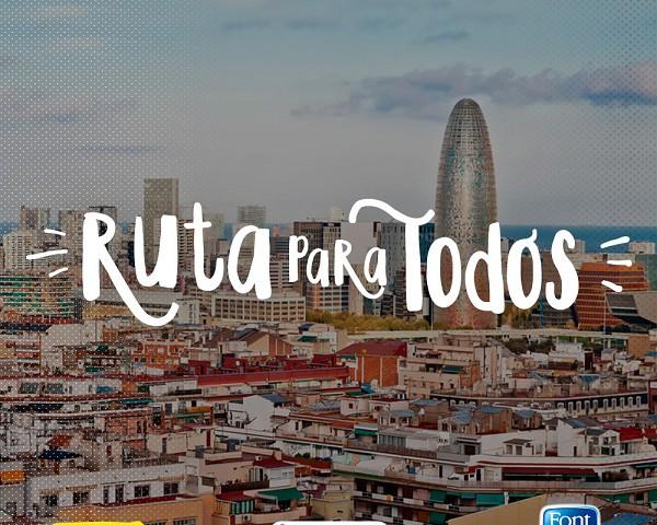 ruta para todos en barcelona buscaextraescolares