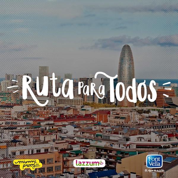 Ruta para todos en Barcelona, propón tu ruta y hazla realidad!