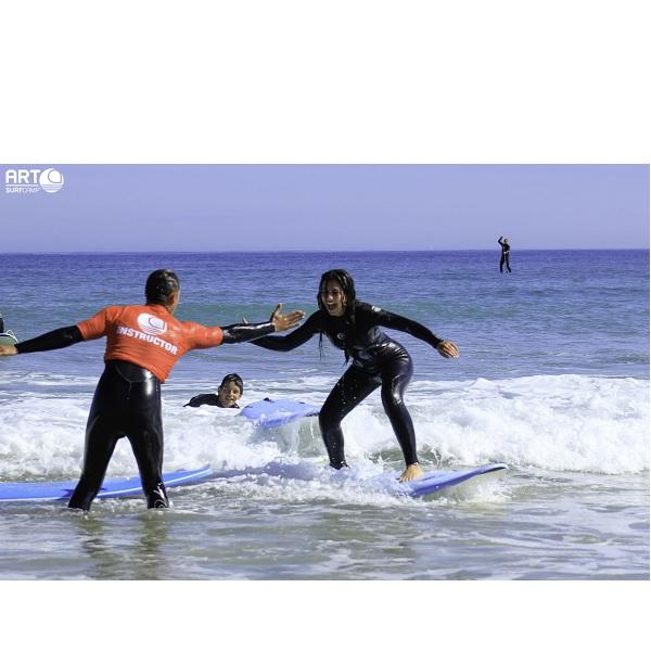 campamentos de verano de surf en galicia carballo
