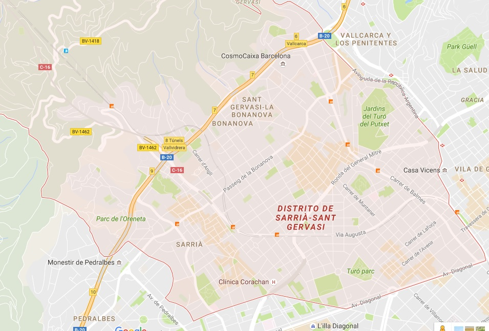 Clases extraescolares en Sarriá – Sant Gervasi – Barcelona