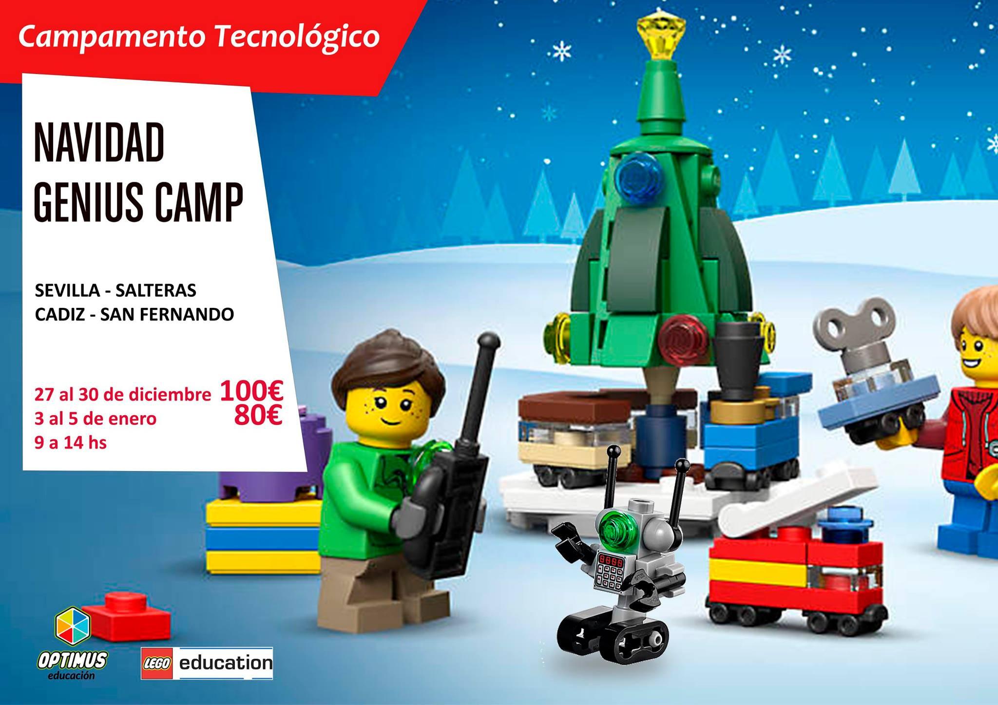 campamentos de navidad de robotica 2016 sevilla cadiz