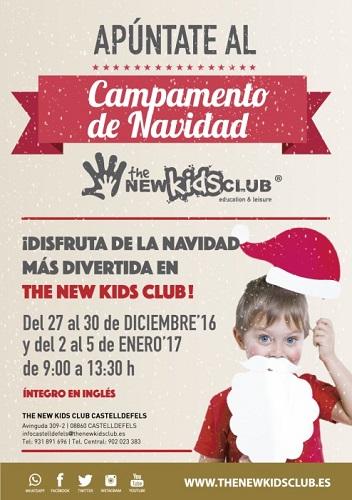 casales de navidad en ingles en Castelldefels