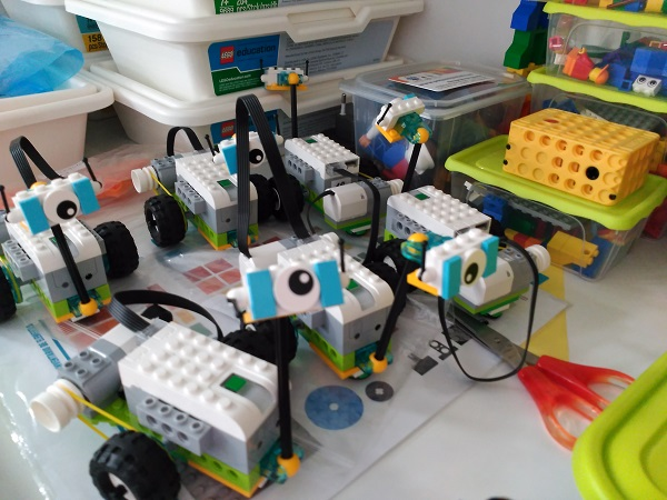 casals de nadal de robotica Sant Antoni
