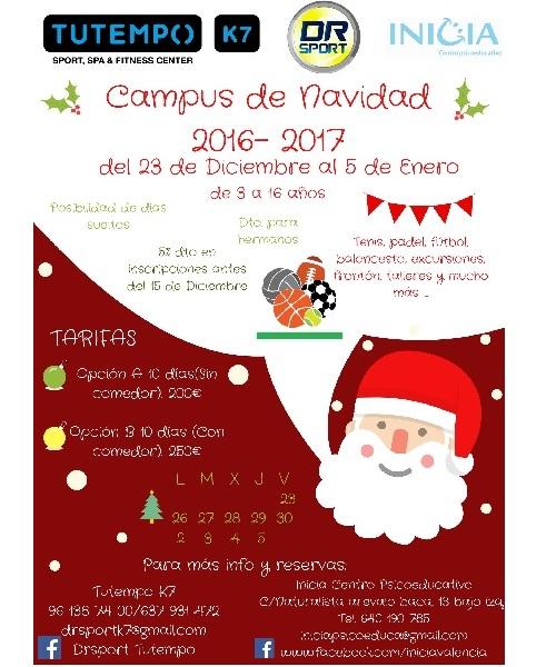 campus de navidad en PATERNA, VALENCIA