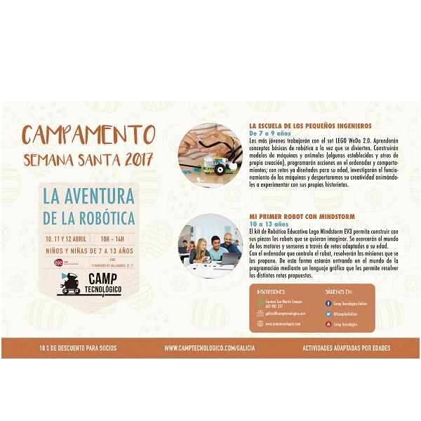 Campamentos de Semana Santa 2017 galicia