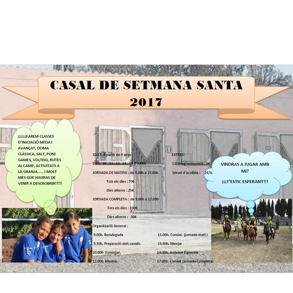 casales de SEMANA SANTA 2007 HÍPICA VILAFRANCA