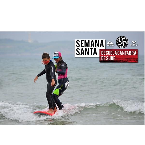 Campamentos de Semana Santa 2017 SURF SOMO CANTABRIA