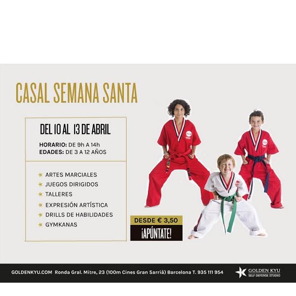 casal de semana santa 2017 artes marciales sarria