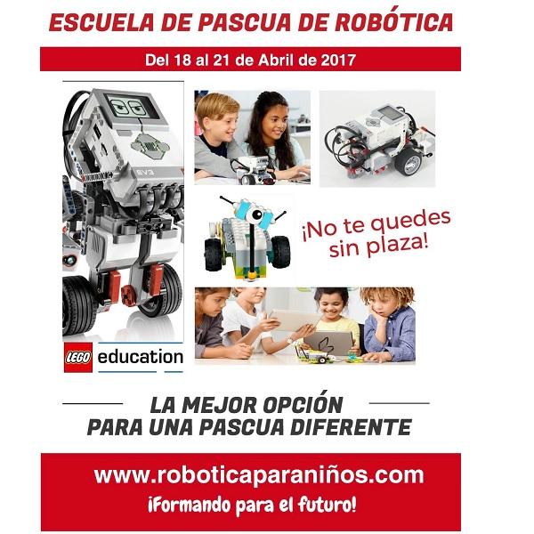 campamentos de semana santa 2017 robotica VALENCIA