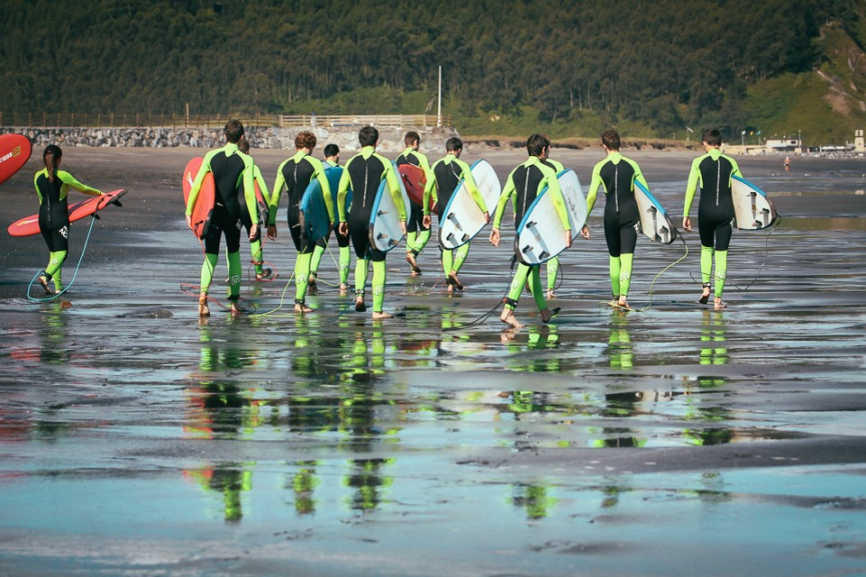 Campamentos de verano en inglés de surf en España con BRITISH SUMMER