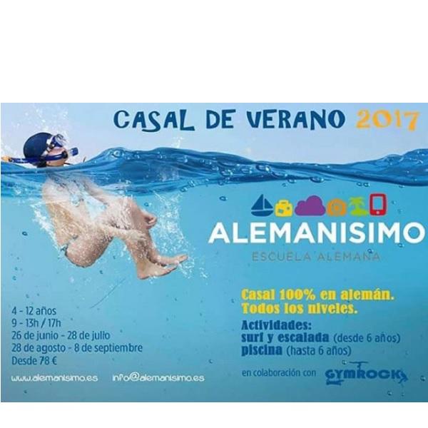 CASAL VERANO 2017 ALEMAN CASTELLDEFELS