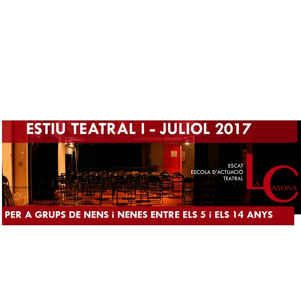 CASAL VERANO 2017 TEATRO SANTS