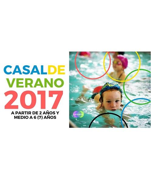 CASAL VERANO 2017 NATACIÓN SARRIA SANT GERVASI