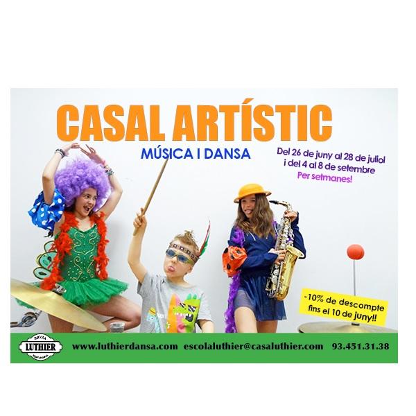 CASAL ESTIU 2017 DANSA I MUSICA EIXAMPLE