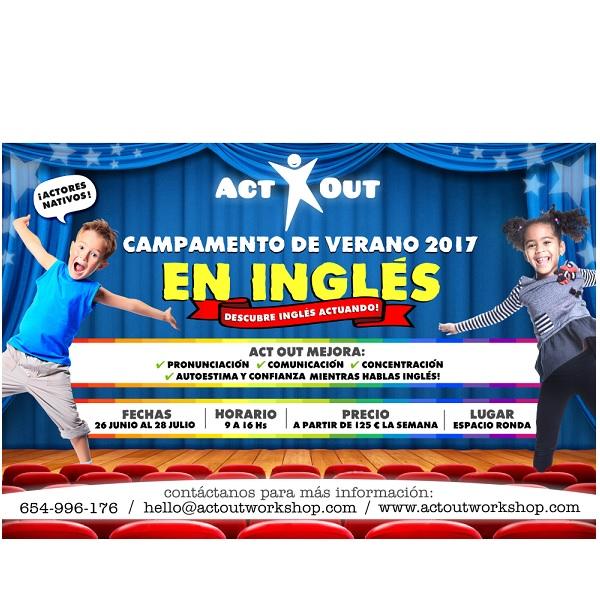 CAMPAMENTOS DE VERANO 2017 teatro MADRID