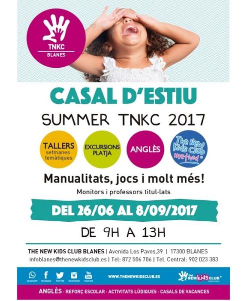 CASAL ESTIU 2017 ANGLES BLANES