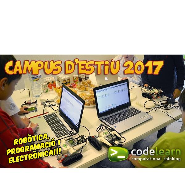 CASAL VERANO 2017 ROBOTICA EIXAMPLE  BARCELONA