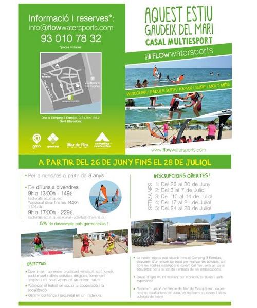 CASAL ESTIU 2017 SURF GAVA MAR