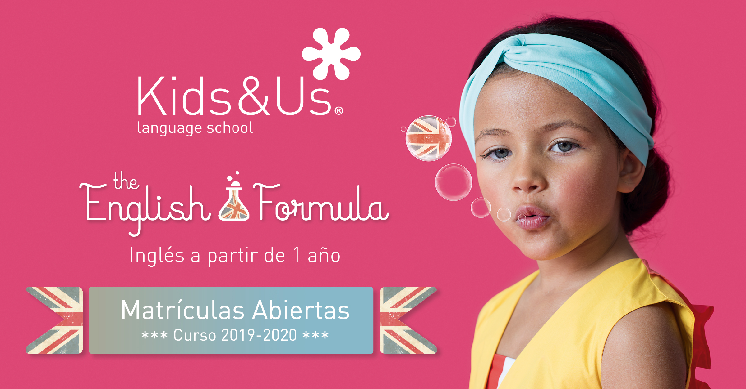 Kids and Us, school of english, una metodología para aprender inglés desde bebés