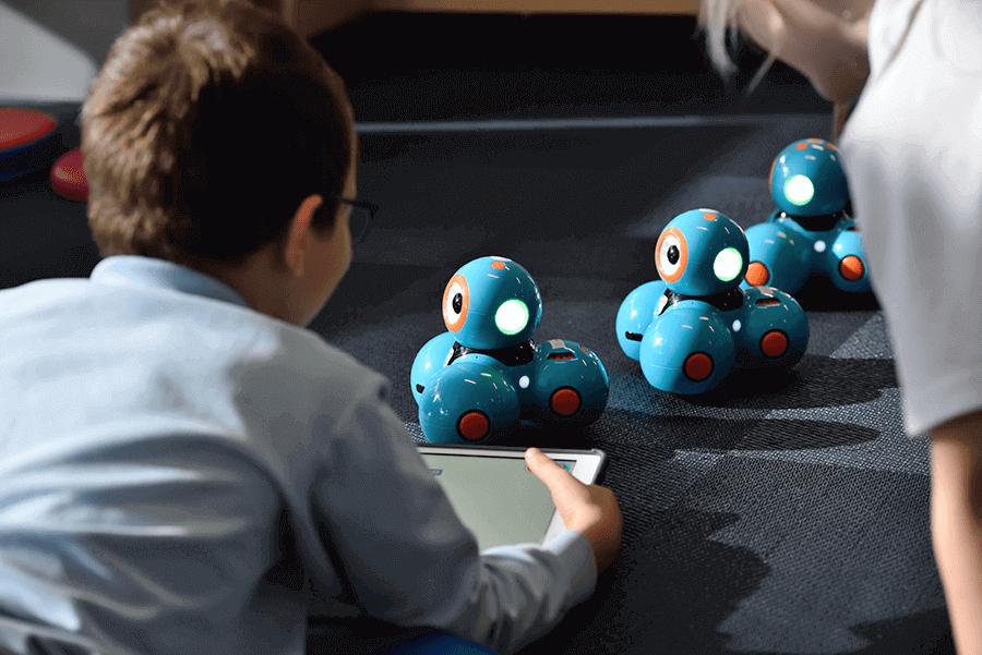 beneficios robotica para niños