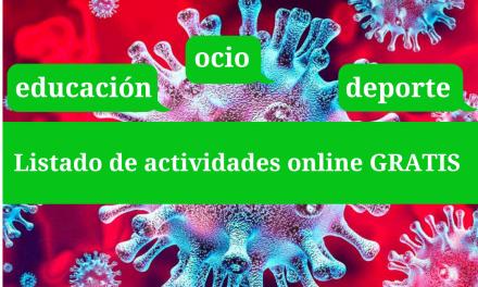 Coronavirus – Actividades online gratis