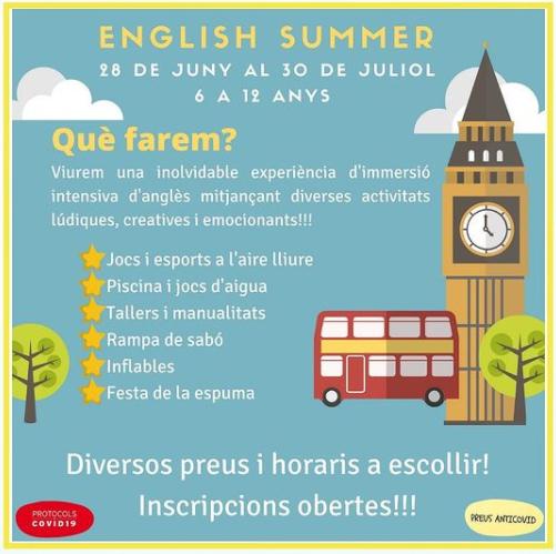 Casal d'estiu english summer